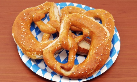 $6 for $10 Worth of Pretzel Treats at  Auntie Anne's