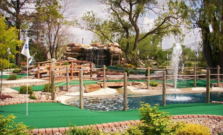 Round of Mini Golf for 4 or 6 or Mini-Golf Party for 10 at Chip's Clubhouse (Up to 54% Off)