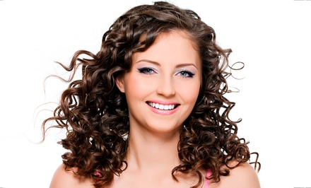 Haircut Package, Single-Process Color, or Partial Highlights or Lowlights at Envogue Salon & Spa (Up to 59% Off)