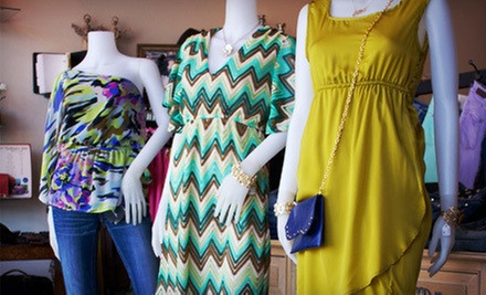 Boutique Clothing or Accessories at Brittan's House (Half Off)
