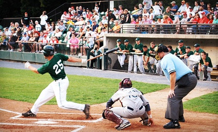 Bethesda Big Train Baseball Game for Two Adults or Two Adults and Two Kids at Shirley Povich Field (Up to 55% Off)