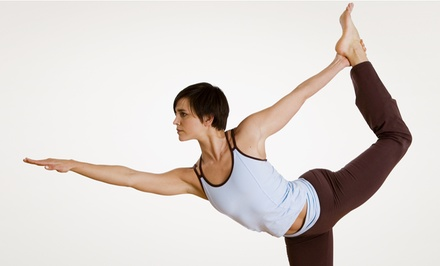 $25 for One Month Unlimited Classes at Pure Yoga & Fitness ($50 Value)