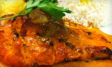$20 Off Your Bill at Zaytun a Mediterranean & IndoPak Bistro. Two Options Available.