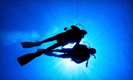 $30 for a Two-Hour Discover Scuba Class with $50 Credit Toward a Full Class at Capt. Saam&#x27;s Scuba School ($100 Value)