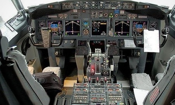 iPilot - Westfield Shopping Centre: Boeing 737 Flight Simulator: 30 Minutes (£39) or One Hour (£72) with iPilot (Up to 62% Off)