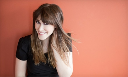 Haircut and Deep Conditioning with Optional Color or Partial or Full Highlights at Shear-Lock Combs West (Up to 54% Off)