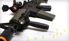 $11 for Five Airsoft Missions with Equipment and 200 BBs at Tac-Ops Indoor Airsoft ($22 Value)