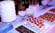 Dessert Bar for 25 or 50 with Set-Up and Delivery from Sweet Escape (67% Off)