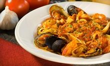 Italian Food at Scotto's Rigatoni Grill (Half Off). Two Options Available.