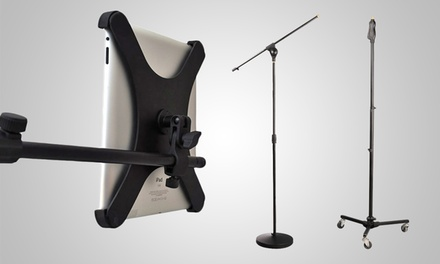 Pyle iPad and Microphone Stands from $39.99–$49.99
