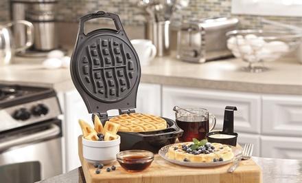Hamilton Beach Mess-Free Belgian-Style Waffle Maker