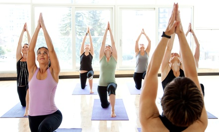 One Month of Yoga or 10 Yoga Classes at Infinite Light Yoga with Lisa Votta (Up to 51% Off)