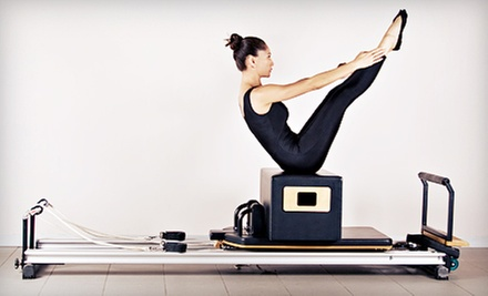 One, Two, or Four Private Pilates Apparatus Sessions at Lithe Core Pilates Studio (Up to 65% Off)