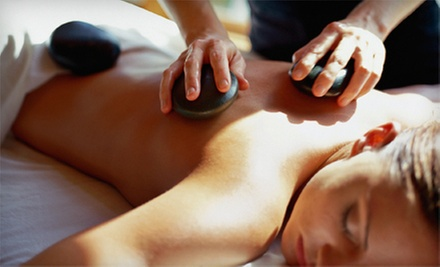 Sports, Reflexology, or Hot-Stone Massage at Absolutely You Salon & Spa (Up to 56% Off). Four Options Available.