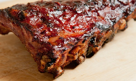 $20 for Two Groupons, Each Good for $20 Worth of Barbecue at Jimmie James BBQ ($40 Total Value)