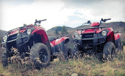 60- or 90-Minute Guided Mountain Tour for Two on Two ATVs at DirtVentures ATV Rentals (Half Off)