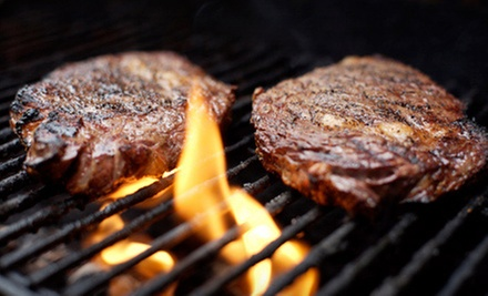 Dinner for Two or Four at Grill Master&#x27;s Steak House (Half Off)