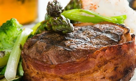 Pub Dinner with Wine and Dessert for Two or Four at The Sticky Wicket (53% Off)