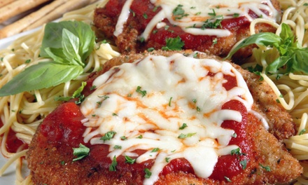 Italian Food for Two or Four at Tesoro Ristorante Italiano (Up to 45% Off)