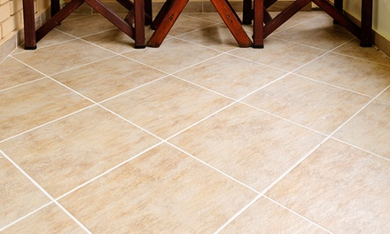 Tile and Grout Cleaning for Up to 250 or 500 Square Feet from SteamPro Carpet Care (57% Off)