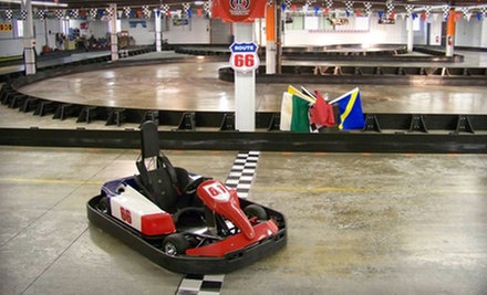 Membership with 10 Go-Kart Races for Juniors or Adults or $20 for $40 Worth of Entertainment at Tri-State Speedway