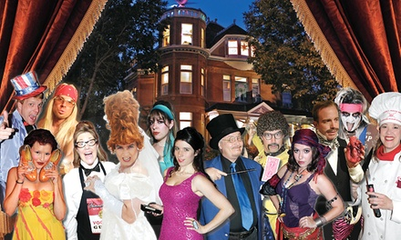 $45 for VIP Murder-Mystery Dinner Package at Lumber Baron Mystery Mansion ($79.99 Value)