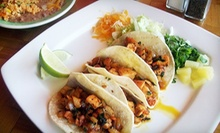 $30 for a Two-Course Mexican Meal for Two with Margaritas at La Fiesta Café (Up to $60.97 Value)