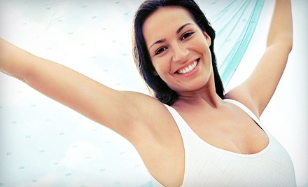 Six Laser Hair-Removal Treatments on a Small, Medium, or Large Area at Ideal Skin Laser and Wellness (Up to 83% Off)