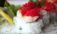 $15 for $30 Worth of Sushi and Japanese Cuisine for Dinner at Restaurant Tora
