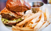 American Lunch or Dinner for Two or Dinner for Four at Fire! Food & Flame (Up to 61% Off)