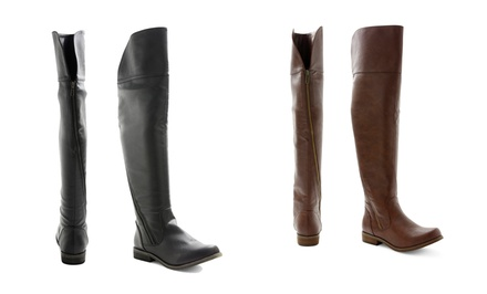XOXO Women's Over-the-Knee Boots