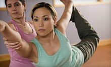 10 or 20 Hot Vinyasa Classes at YOUnique Yoga (Up to 79% Off)