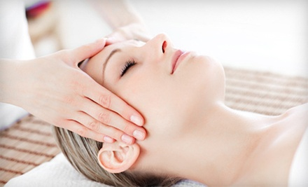 One or Three 60-Minute Massages or Custom Facials at Blown Away Salon & Spa (Up to 56% Off)