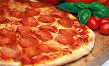 Italian Cuisine and Pizza at Russos New York Pizzeria (Half Off). Three Options Available. 