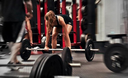 One or Two Months of CrossFit or One Personal-Training Session at The Training Box (Up to 85% Off)