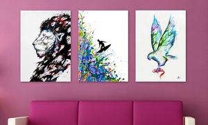 "25""x18"" Marc Allante Sketch Art Prints"