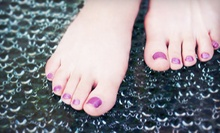 Champagne-and-Rose or Male Nail Pedicure at Sole Serenity Spa at Lakes Foot and Ankle Associates (Up to 63% Off)
