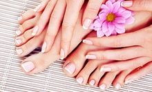 OPI Spa Pedicure with Optional OPI Avoplex Manicure or OPI Gel Color Manicure at Street Side Salon (Half Off)