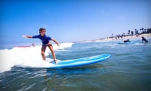 Two-Hour Standup-Paddleboarding Clinic or Three-Hour Group Surf Lesson at Ocean Experience Surf School (Up to 59% Off)