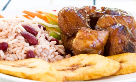 Puerto Rican Food for Two or Catering at Borinquen Soul (Up to 41% Off)