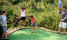 Two or Four Rounds of Mini Golf or Four Rounds of Mini Golf and Batting Cages at Columbia SportsPark (Up to 54% Off)