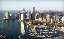 50-Minute Miami Sky Plane Tour for One or 75-Minute Romantic Plane Tour for Two from Go Fly Tours (Half Off)