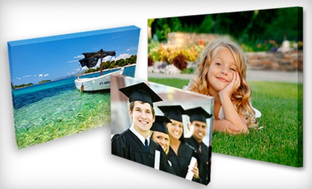 Gallery-Wrapped Canvas Print with Premium Wire Hanger from Canvas Print Now (Up to 66% Off). Three Sizes Available.