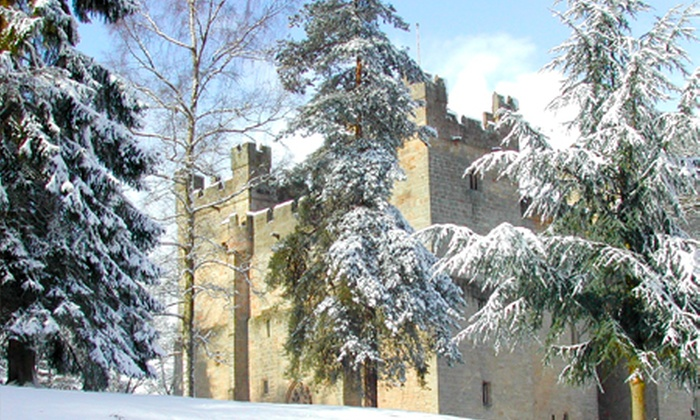 Langley Castle - Non-Accommodation - Langley Castle Hotel: Langley Castle Battlements Guided Tour For Family of Four for £4.50 (55% Off)