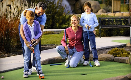 Miniature Golf with Small Shaved Ices for Four or Six at Midget Links Golf (Up to Half Off)