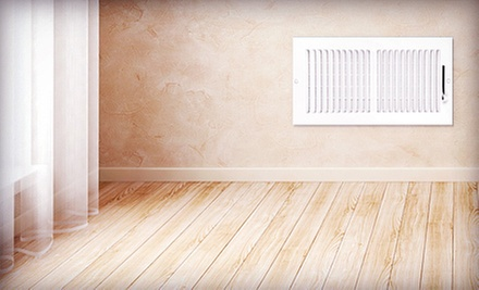 Air-Duct Cleaning for 6 or 12 Vents and a System Check from V Clean (Up to 78% Off)
