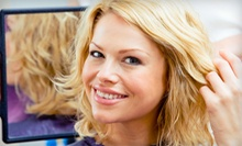 Hairstyling and Color Services at T&N Hair Salon (Up to 59% Off). Three Options Available.