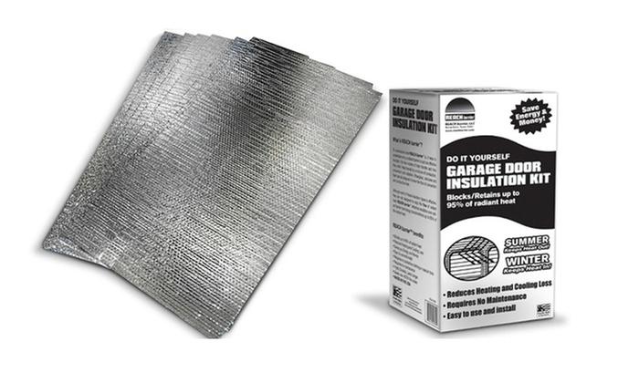 Reach Barrier Garage Door Insulation Kit Deal Of The Day