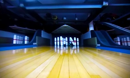 $21 for One Hour of Bowling with Shoe Rentals for Four People at Needham Bowlaway ($41 Value)