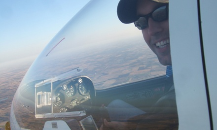 $139 for a 4,000-Foot Piloted Gliding Package with DVD at Cross Country Soaring ($280 Value)